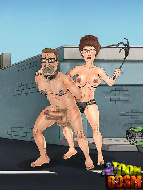 bdsm milf cartoon