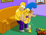 Simpsons enhance their sex life with BDSM. Homer and Marge Simpson both love being sexually tortured